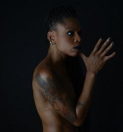 Be Barock Black Inked Model Art