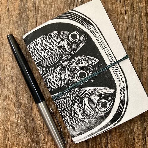 Linocut Notebook
