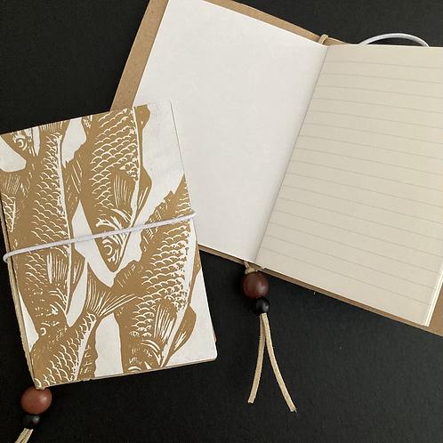 Handmade Linocut Notebook