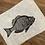 Thumbnail: 'Bass' Original Unframed Linocut Print