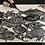 Thumbnail: 'School of Fish' Original Linocut Print - Black