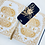 Thumbnail: Hand Printed Linocut Bookmark