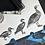 Thumbnail: 'Duck, duck...GOOSE!' - Original Linocut Print (Unframed)