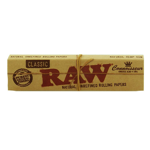 RAW Classic Connoiseur King size Slim 32 Leaves