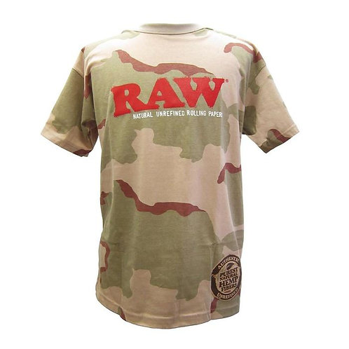 RAW Mens Dessert Camo Shirt