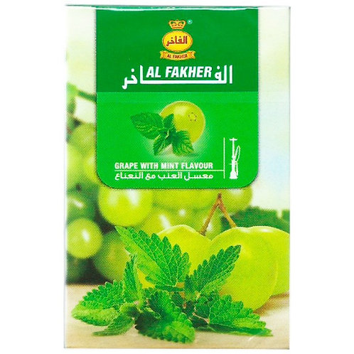 Tabaco Al Fakher Grape W/ Mint