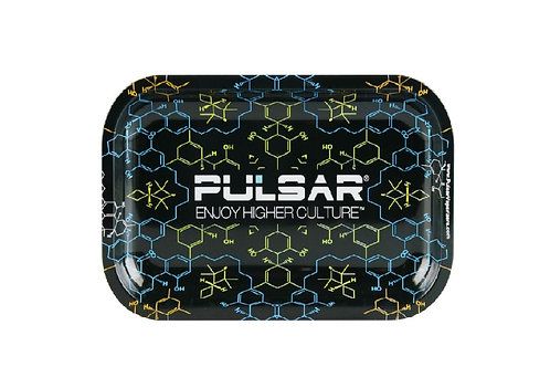 Charola Pulsar Rolling Tray THC Molecule Small  (7 x 5.5)