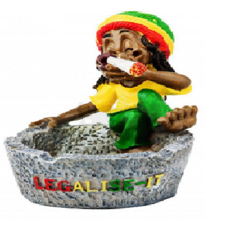 Cenicero Rasta Man Legalize It