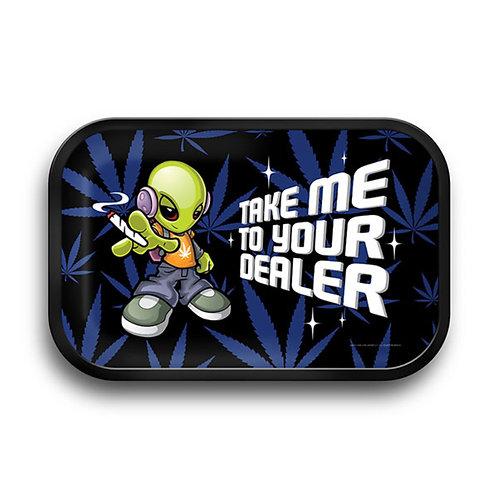 "Charola Pulsar Take me to your leader Medium 11""x7"""