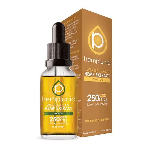 Hemp Lucid MCT Oil 30 ml 250 mg