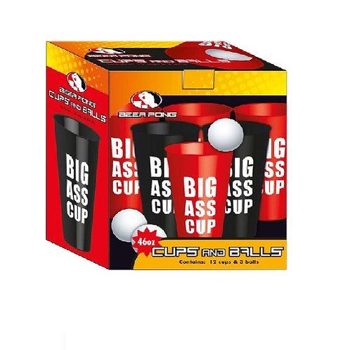 Beer Pong Set de 46 vasos