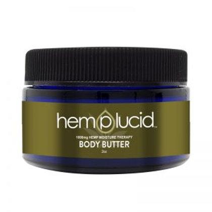 Hemp Lucid Body Butter 60 ml 1000 mg