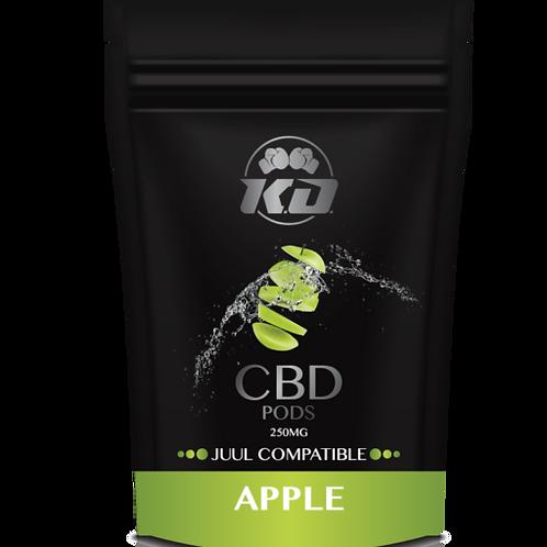 Cartuchos compatibles con Juul 120 mg CBD