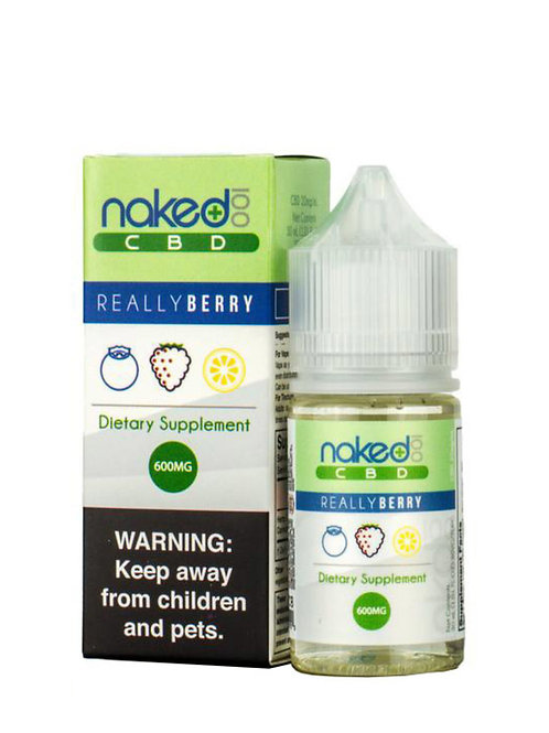 Naked 100 Really Berry 600 mg