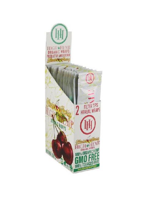 High Hemp CBD Wraps - Blazin Cherry