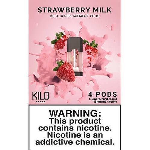Kilo pods Strawberry Milk