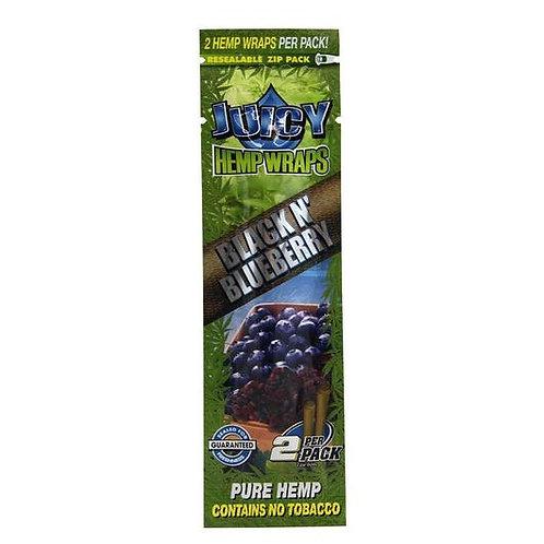 Juicy Jay Hemp Black and Blueberry