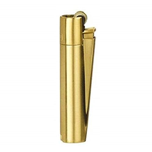 Clipper FULL Metal Lighter Gold