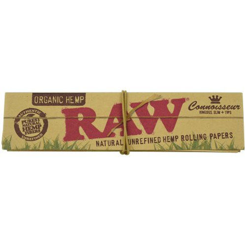 RAW Organic Connoiseur King size Slim 32 Leaves