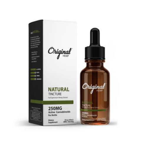 Original Hemp Tincture Natural 250