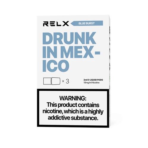 RELX Pods Blue Burst