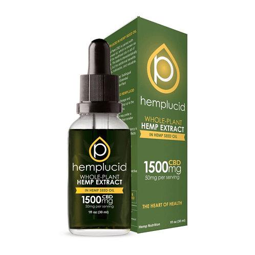 Hemp Lucid Hemp Seed Oil 30 ml 1500 mg