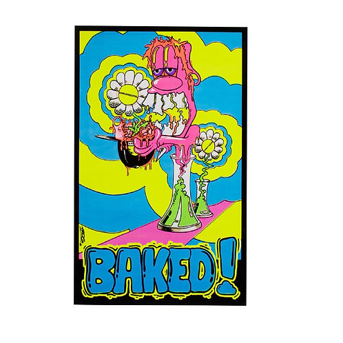 Poster Baked Blacklight