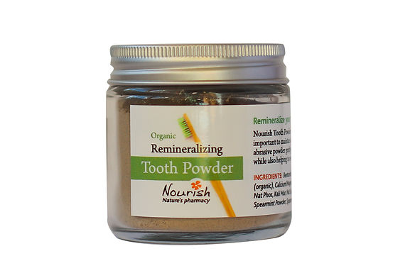 Remineralizing Toothpowder - w