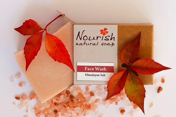 nourish face wash soap