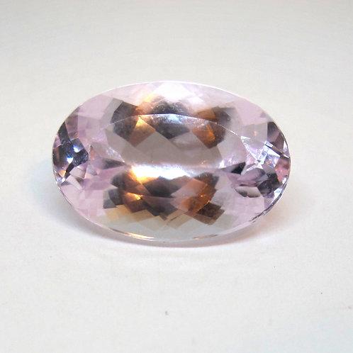 12.89CT Pastel Pink Morganite