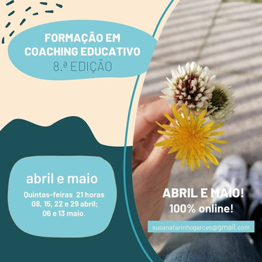 Formação em Coaching Educativo - palavras poderosas da Vânia