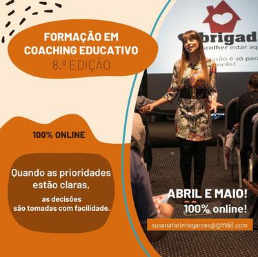 8.a edição da Formação em Coaching Educativo, TOMA A DECISÃO