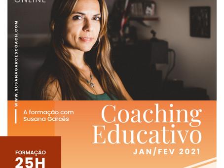 Formação em Coaching Educativo 7.a edição, já em janeiro 2021