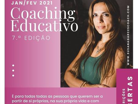 Ainda estás a tempo, Formação em Coaching Educativo