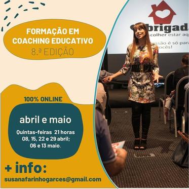 Formação em Coaching Educativo - inicia a 8 de abril