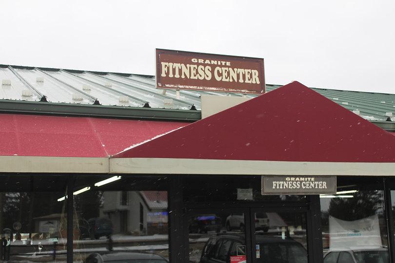 Granite Fitness Storefront