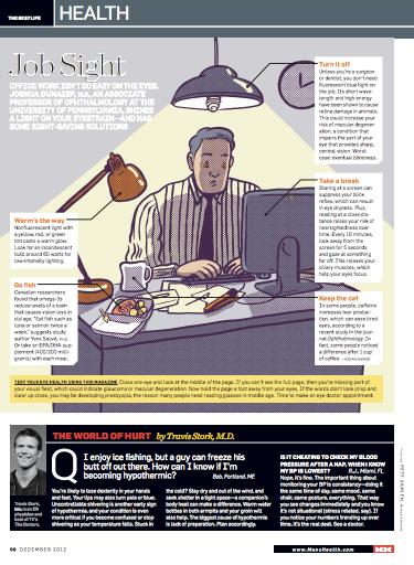 Men's Health, Dec 2012