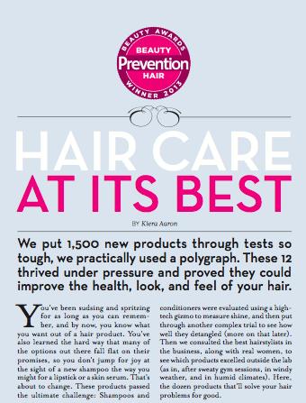 Prevention, Oct 2013
