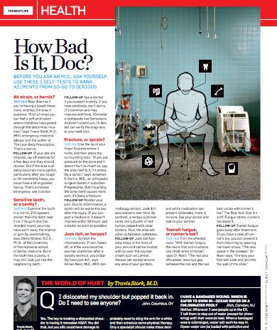 Men's Health, June 2011