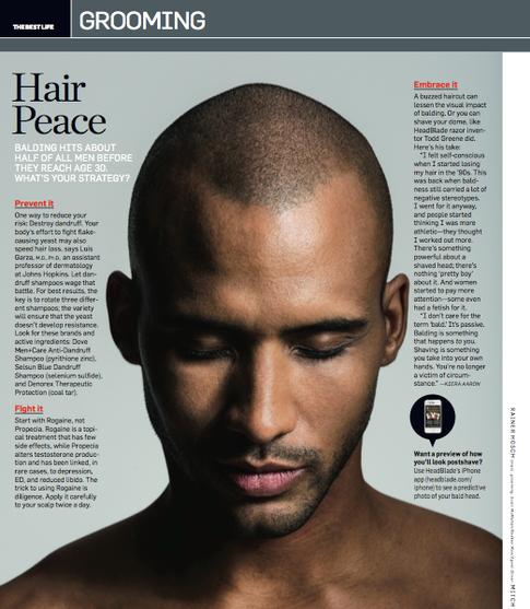Men's Health, March 2013
