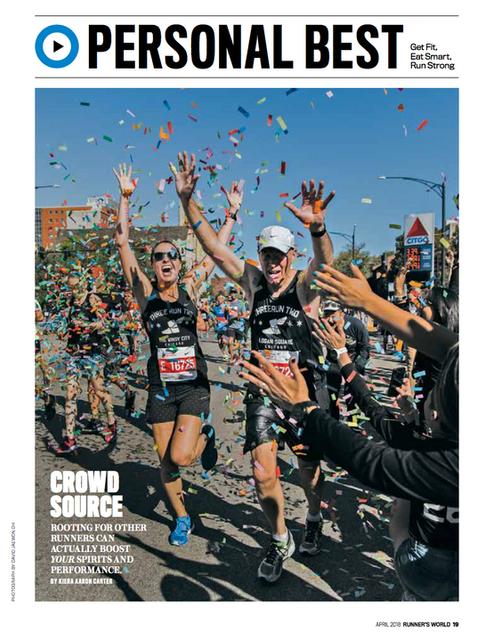 Runner's World, April 2018