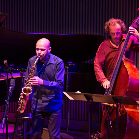 With Miguel Zenon at SF Jazz Center