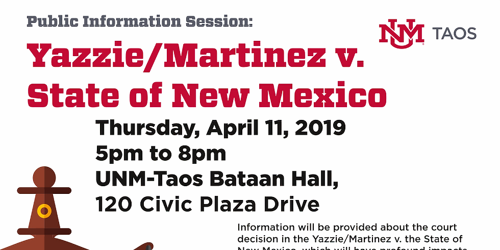 Yazzie/Martinez v State of NM: Public Information Session
