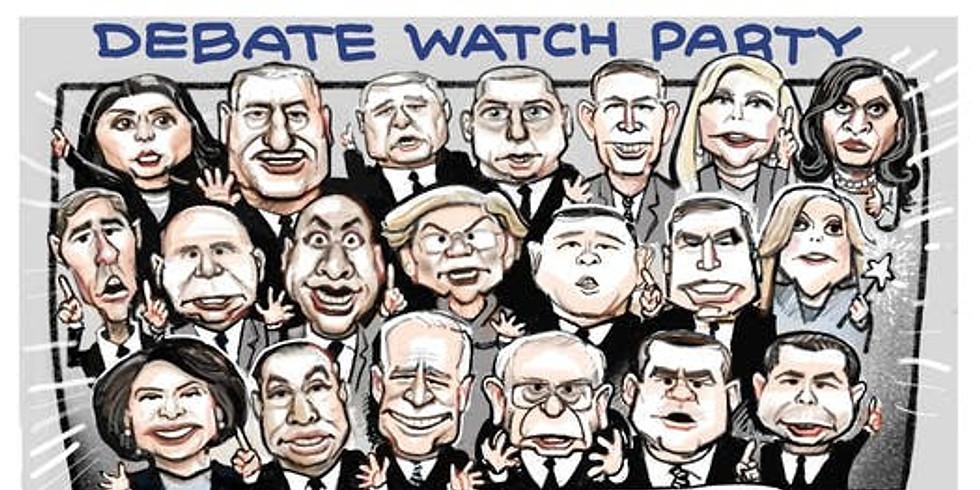 Debate Watch Party & Potluck, Round 2