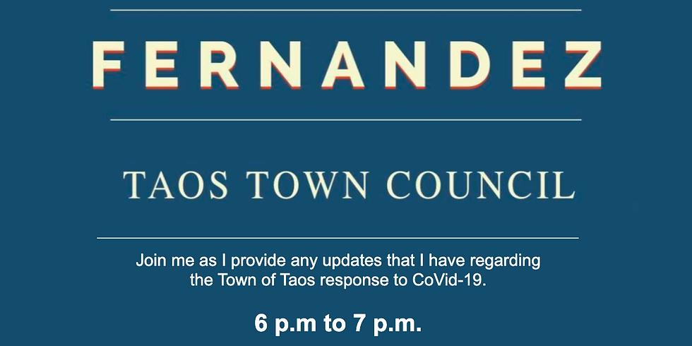 Darien Fernandez Update on Taos