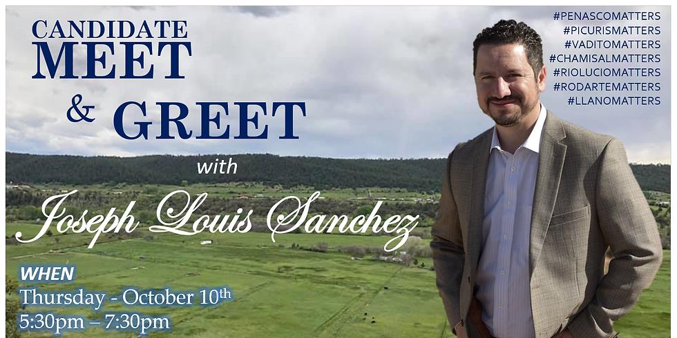 Joseph Louis Sanchez Meet & Greet
