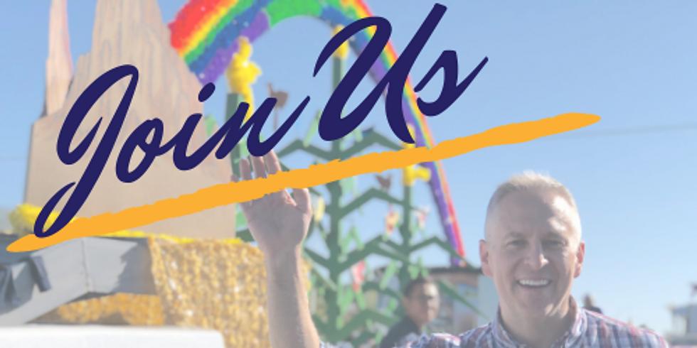 John Blair with the LGBTQ Victory Fund