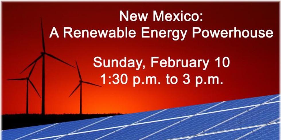 New Mexico: A Renewable Energy Powerhouse