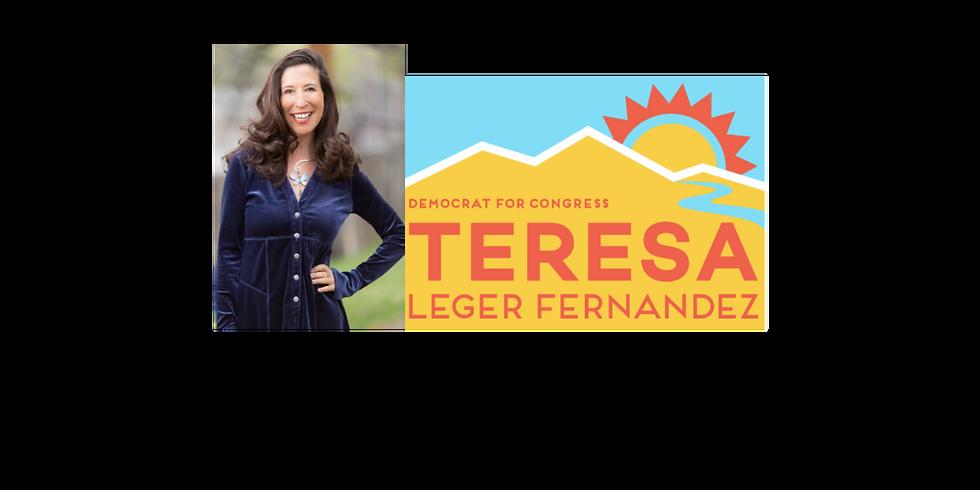 Teresa Leger Fernandez Virtual Reception