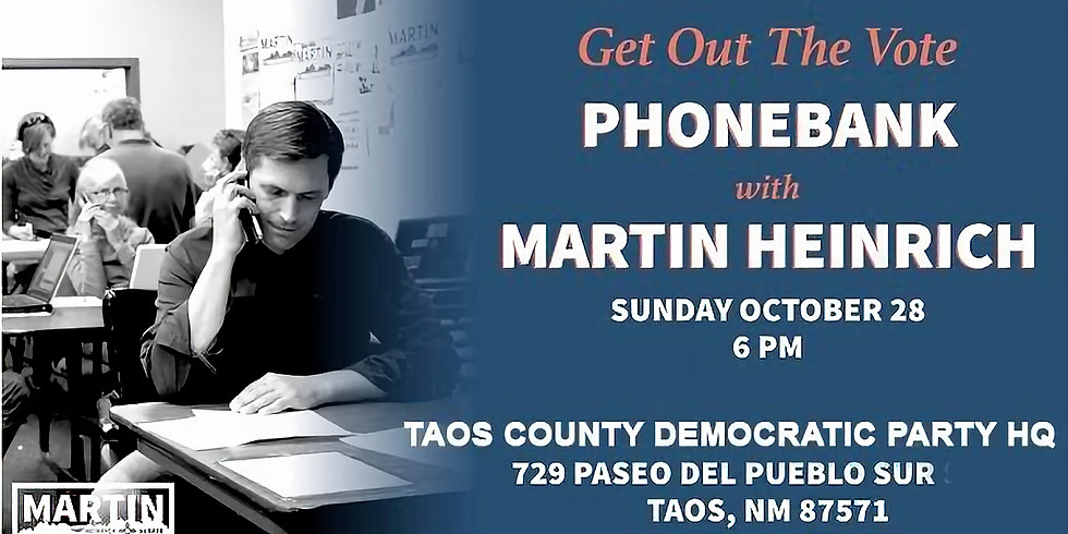 Phone Banking with Heinrich!
